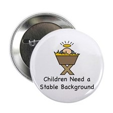 "STABLE BACKGROUND 2.25"" Button (100 pack)"