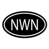NWN Oval Decal