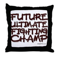 FUTURE ULTIMATE FIGHTING CHAM Throw Pillow