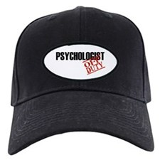 Off Duty Psychologist Baseball Cap