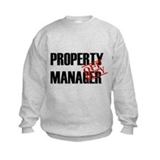 Off Duty Property Manager Sweatshirt