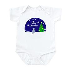 Russian Blue Merry Christmas Infant Bodysuit