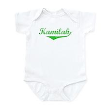 Kamilah Vintage (Green) Infant Bodysuit