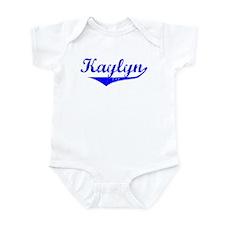 Kaylyn Vintage (Blue) Infant Bodysuit