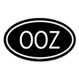 OOZ Oval Decal