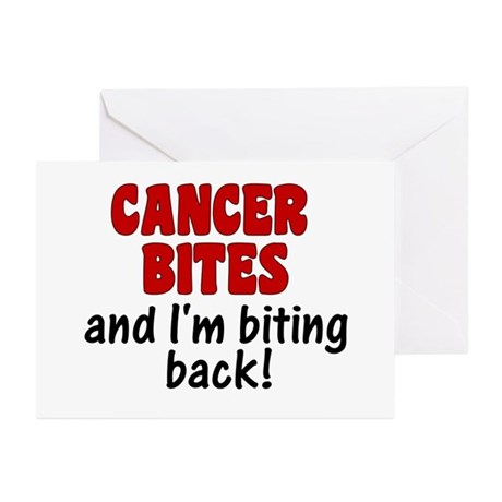 Cancer Bites Greeting Cards (Pk of 10)
