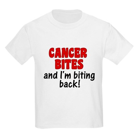 Cancer Bites Kids Light T-Shirt