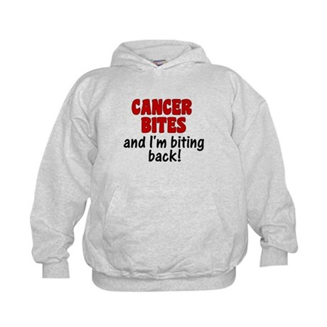 Cancer Bites Kids Hoodie