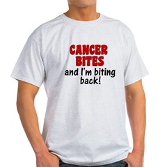 Cancer Bites Light T-Shirt