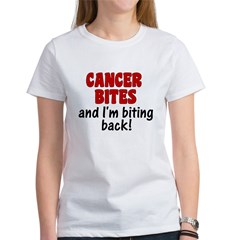 Cancer Bites Women's T-Shirt