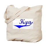 Kya Vintage (Blue) Tote Bag