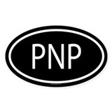 PNP Oval Decal
