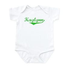 Kaylynn Vintage (Green) Infant Bodysuit