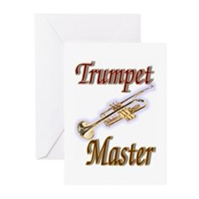 Trumpet Master Greeting Cards (Pk of 20)