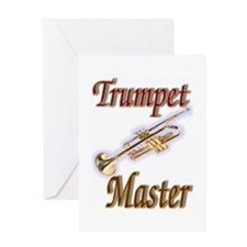 Trumpet Master Greeting Card
