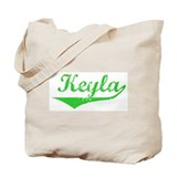 Keyla Vintage (Green) Tote Bag