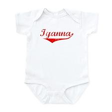 Iyanna Vintage (Red) Infant Bodysuit