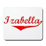 Izabella Vintage (Red) Mousepad