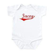 Jacey Vintage (Red) Infant Bodysuit