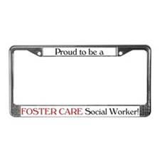 Proud Foster Care SW License Plate Frame