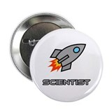 "Rocket Scientist 2.25"" Button (10 pack)"