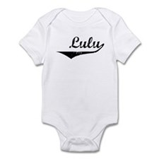Lulu Vintage (Black) Infant Bodysuit