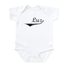 Luz Vintage (Black) Infant Bodysuit