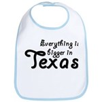 Bigger In Texas Bib