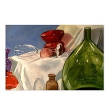 Glass Still-Life Postcards (8 cards)