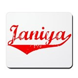 Janiya Vintage (Red) Mousepad