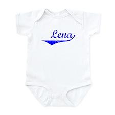 Lena Vintage (Blue) Infant Bodysuit