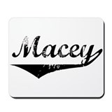 Macey Vintage (Black) Mousepad