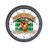 Make Some Noise Football Wall Clock
