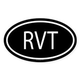 RVT Oval Decal