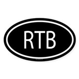 RTB Oval Decal