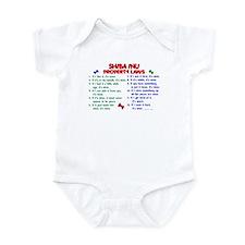 Shiba Inu Property Laws 2 Infant Bodysuit