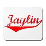 Jaylin Vintage (Red) Mousepad