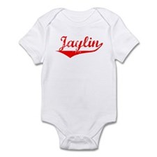 Jaylin Vintage (Red) Infant Bodysuit