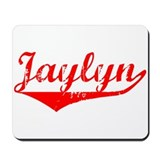 Jaylyn Vintage (Red) Mousepad
