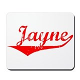 Jayne Vintage (Red) Mousepad