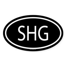 SHG Oval Decal