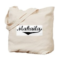 Makaila Vintage (Black) Tote Bag