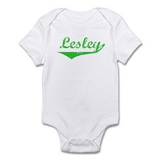 Lesley Vintage (Green) Infant Bodysuit