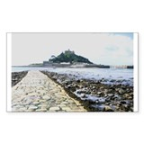 St. Michael's Mount Rectangle Decal