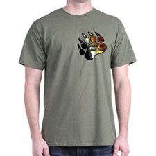 BEAR PRIDE PAW/TALK 2 THE PAW T-Shirt