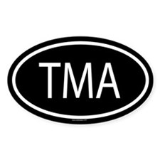TMA Oval Decal
