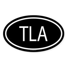 TLA Oval Decal