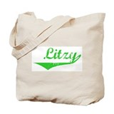 Litzy Vintage (Green) Tote Bag