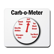 Diabetes Carb-o-Meter Mousepad