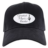 Greatest Music Teacher Baseball Cap
